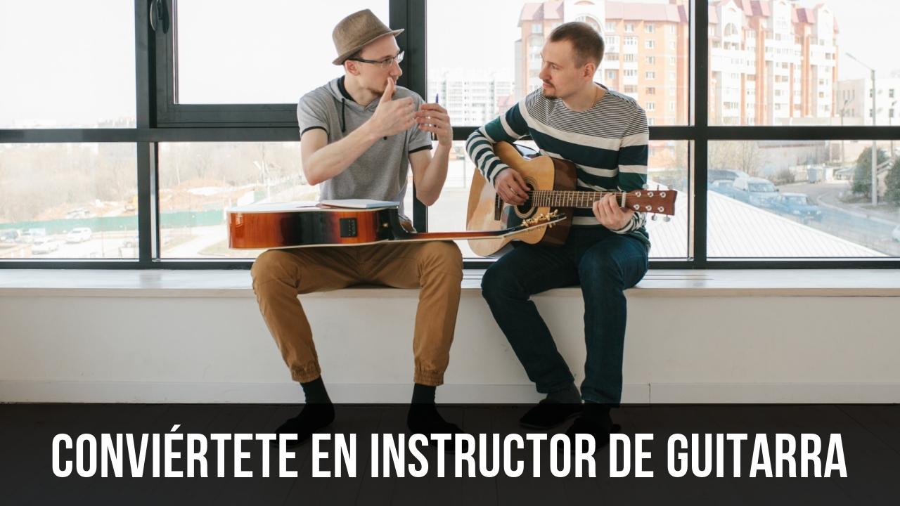 Como dar clases de guitarra
